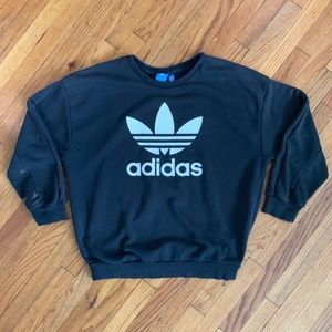 Adidas Vintage Three Stripes Crewneck Sweater